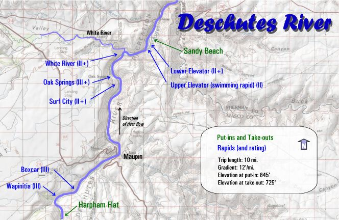 Map Gallery Oregon River Experiences - Oregon rivers map